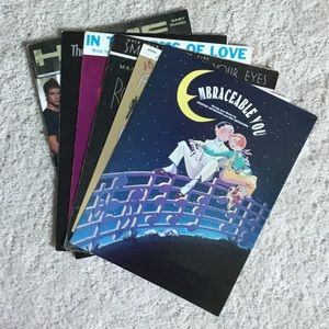 Assorted Vintage and Modern Piano Sheet Music